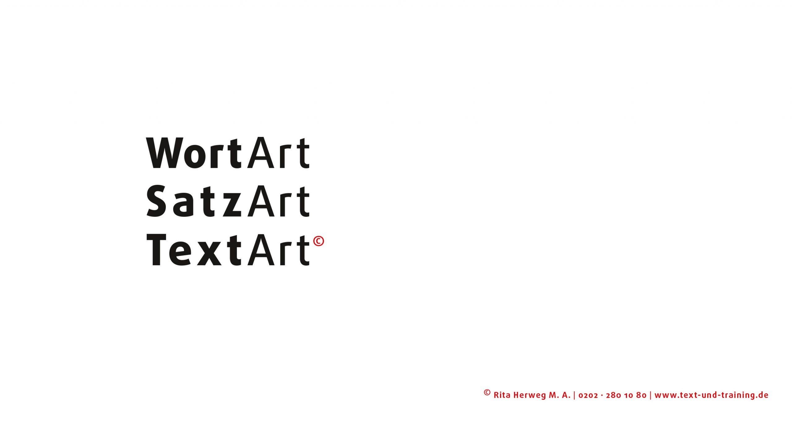 WordArt SatzArt TextArt